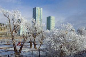 В Астане в субботу пойдет снег