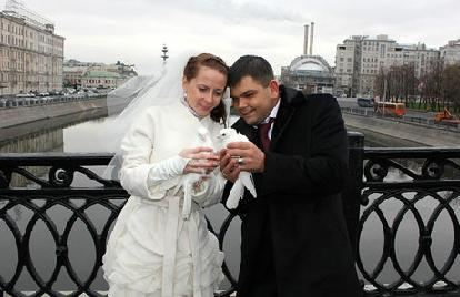 Анатолий Отраднов с женой