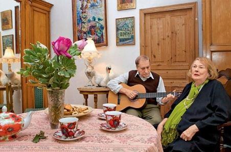 Людмила Иванова с мужем Валерием Миляевым