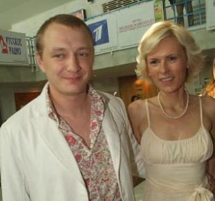 Экс-супруги Марат Башаров и Елизавета Круцко