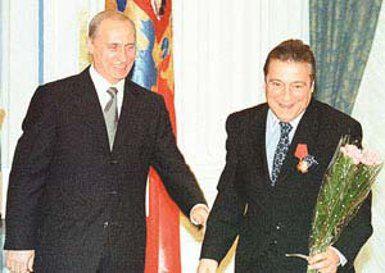 Геннадий Хазанов попросил у Путина шпаргалку