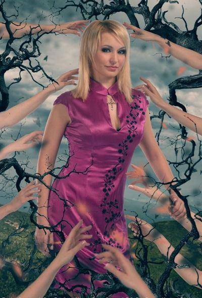 Катя Лель боится прикосновений