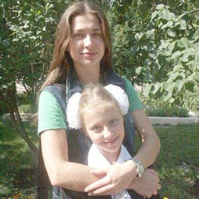 Мария Ситтель с дочерью Дашей