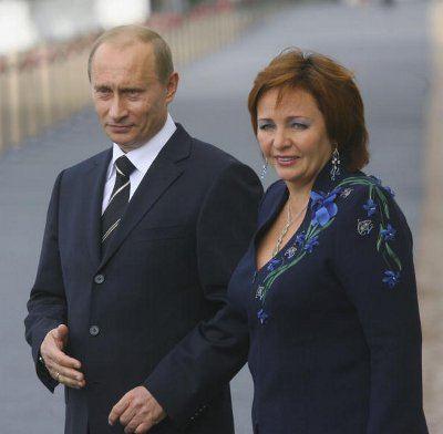 Супругов Путиных давно никто не видел вместе