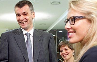 Прохоров поможет Собчак открыть Госдеп