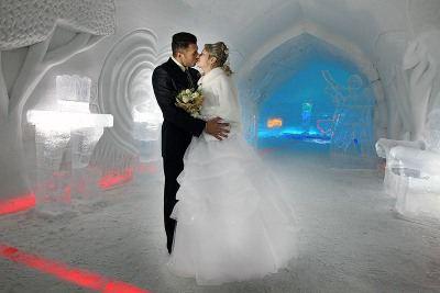 Свадьба в Ледяном дворце будет незабываемой