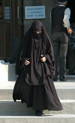 Турецкая женщина-мусульманка