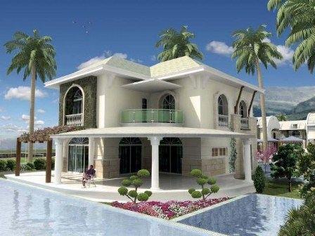 Недвижимость в Турции напоминает райский уголок
