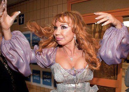 Маша Распутина - российская поп-певица