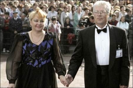 Наталья Гвоздикова и Евгений Жариков 1997 год