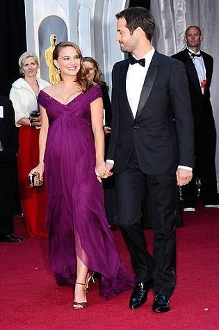 Натали Портман беременная на красной дорожке