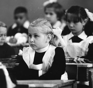 В советское время все школьники были одеты одинаково