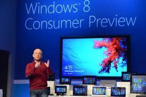 Презентация Windows 8 собрала в Барселоне огромное количество человек