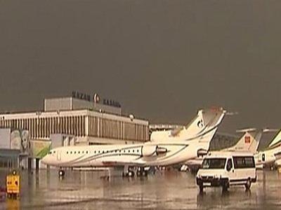 Авария случилась в аэропорту Казани