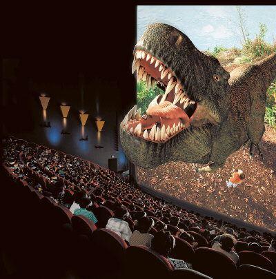 Пока кинотеатры выезжают на 3D