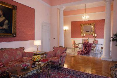 Президентские апартаменты Светланы Медведевой в Grand Hotel La Pace