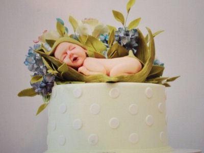 Торт для молодых родителей