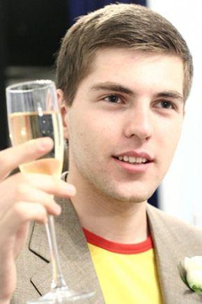 Дмитрий Борисов - телеведущий вечерних новостей