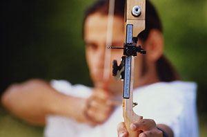В Бурятии стрельба из лука очень популярный вид спорта