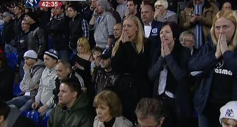 Болельщики молятся за здоровье футболиста «Болтона»