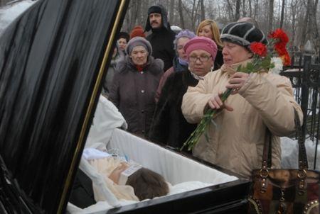 Москвичи пришли проститься с Ириной Пороховщиковой