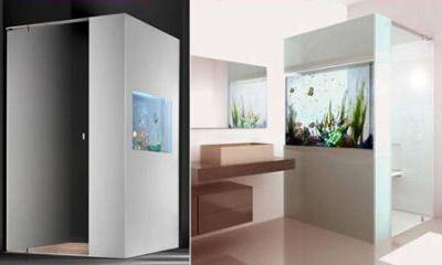 Душ-аквариум