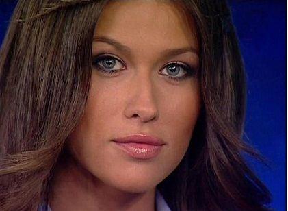 Charming TV host