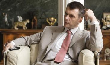 Прохоров предложил всем миром придумать название партии