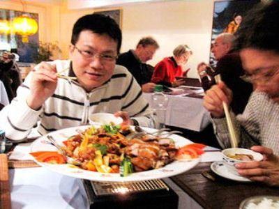 Посетители ресторана всегда довольны столь экзотическими блюдами