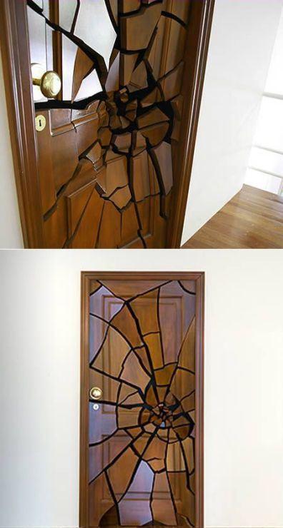 Дверь «разбитая»