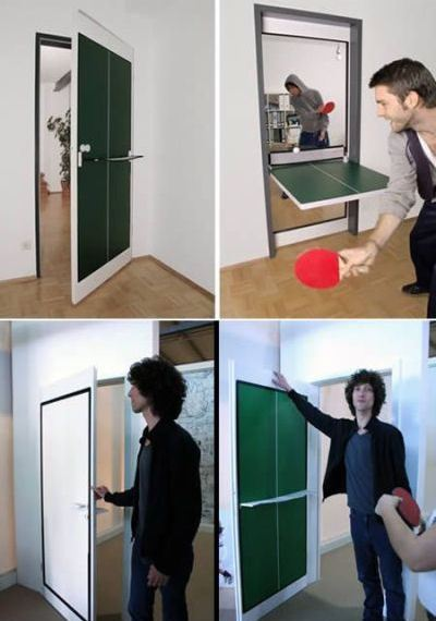 Дверь для теннисиста