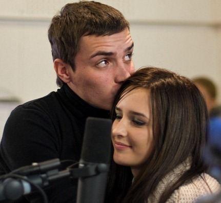 Рита с супругом Евгением Кузиным