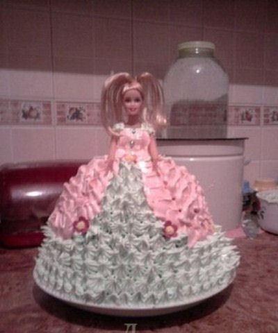 Торт для Барби