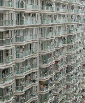 В Китае дома строят целыми кварталами
