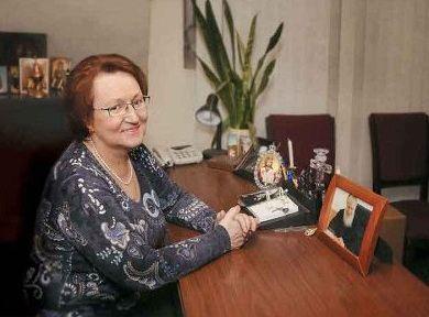 Сестра Патриарха - Елена Гундяева