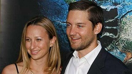 With his beloved wife Jennifer Meyer