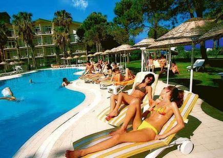 Турецкие пляжи способствуют поддержанию хорошего настроения