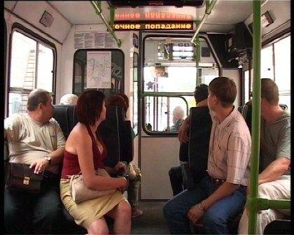 Жители будут изучать английский язык в транспорте