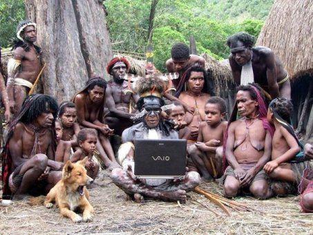 И даже в племени тумба-юмба есть свои компьютерные гении