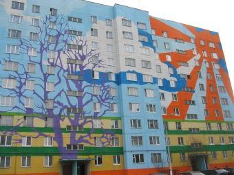 Такой яркий фасад внесет новые краски в будни пензенцев