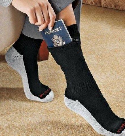 Носки с потайным кармашком
