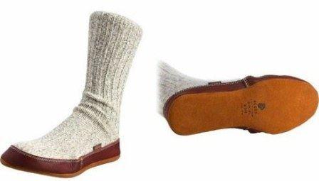 Носки вместо обуви