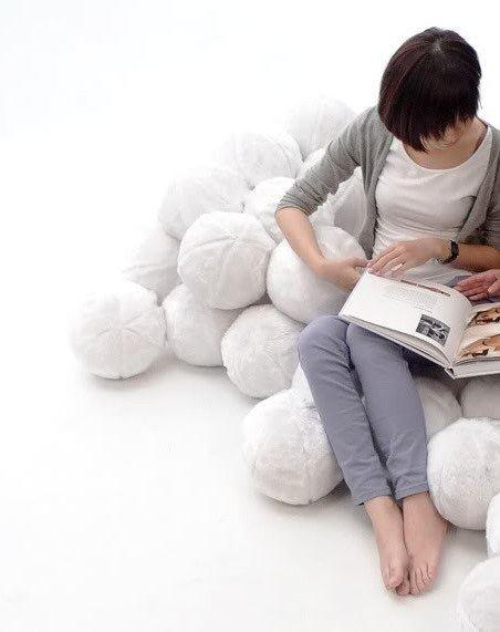 Подушечный конструктор станет вашим излюбленным местом отдыха