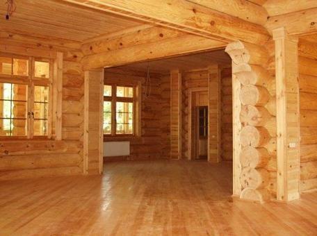 В деревянном доме легко дышится