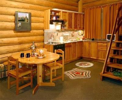 Зимой в деревянном доме тепло, а летом - прохладно