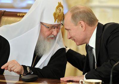 Но его Патриарх Кирилл тоже засветил