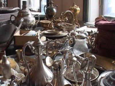 Фамильное серебро Нарышкиных обнаружили рабочие