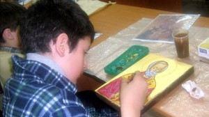 Занятия иконописью развивают все душевные грани подростков