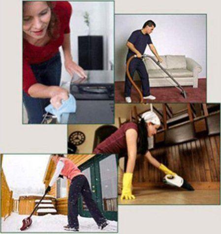 Уборку квартиры можно без проблем отдать в руки клининговой компании