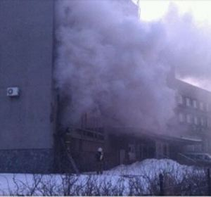 Пожар во Дворце молодежи возник в результате кучи недочетов